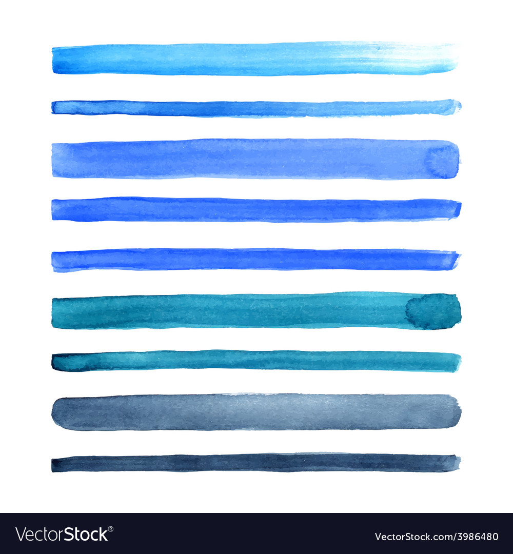 Watercolor stripes vector | Price: 1 Credit (USD $1)