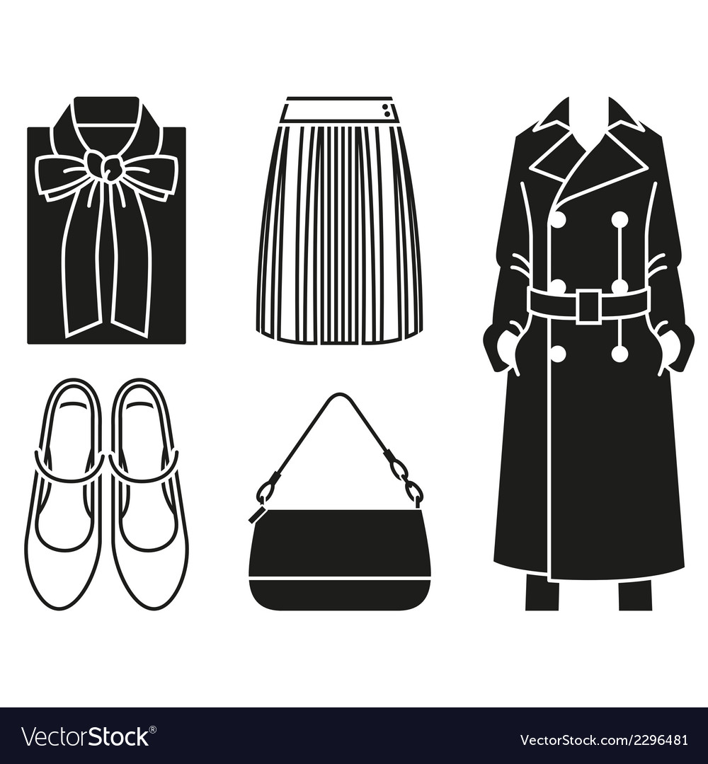 Fashion clothes vector | Price: 1 Credit (USD $1)