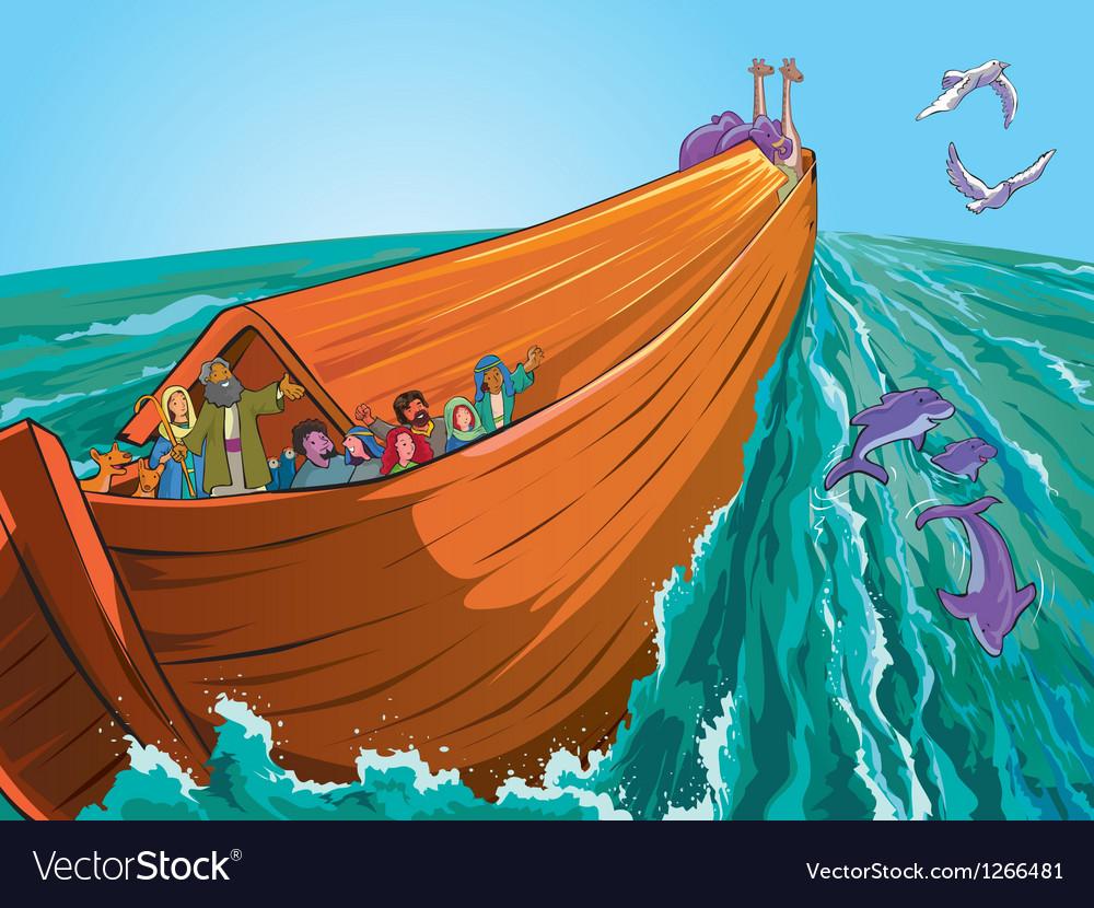 Noahs ark vector | Price: 3 Credit (USD $3)
