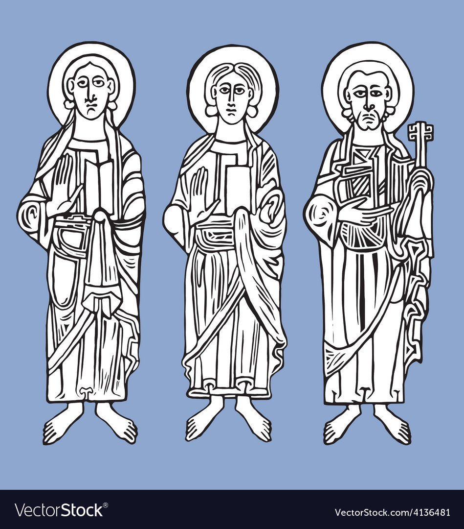 Saints vector | Price: 1 Credit (USD $1)