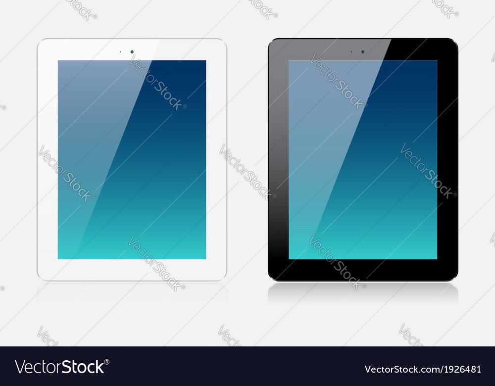Tablets vector | Price: 1 Credit (USD $1)
