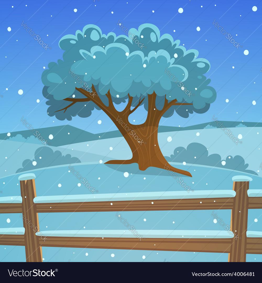 Winter tree vector   Price: 5 Credit (USD $5)