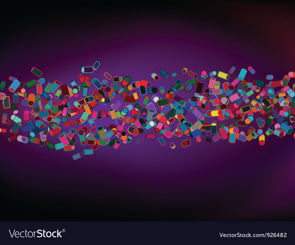 Abstract colorful cylinder background vector | Price: 1 Credit (USD $1)