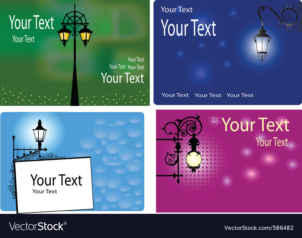 Backgrounds with lanterns vector | Price: 1 Credit (USD $1)
