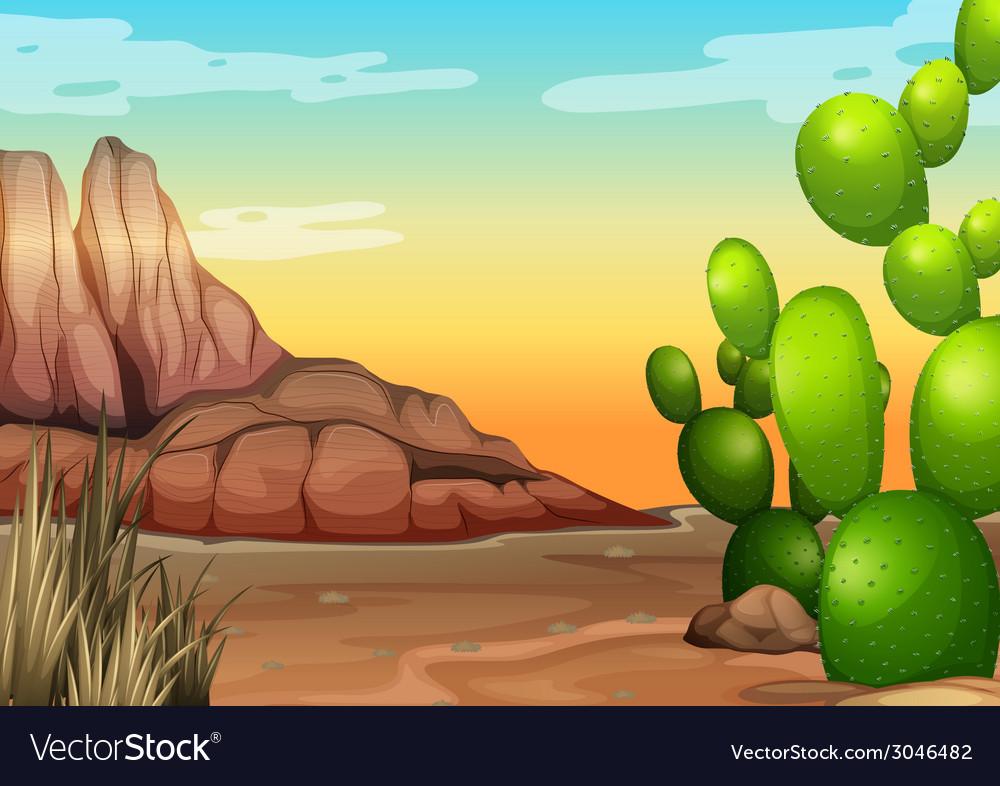 Desert vector | Price: 3 Credit (USD $3)