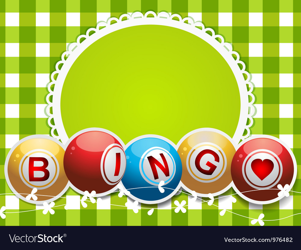 Lottery bingo background vector | Price: 1 Credit (USD $1)