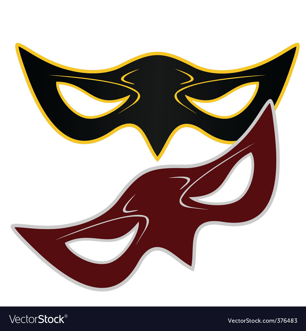 Realistic illustration of carnivals mask vector | Price: 1 Credit (USD $1)