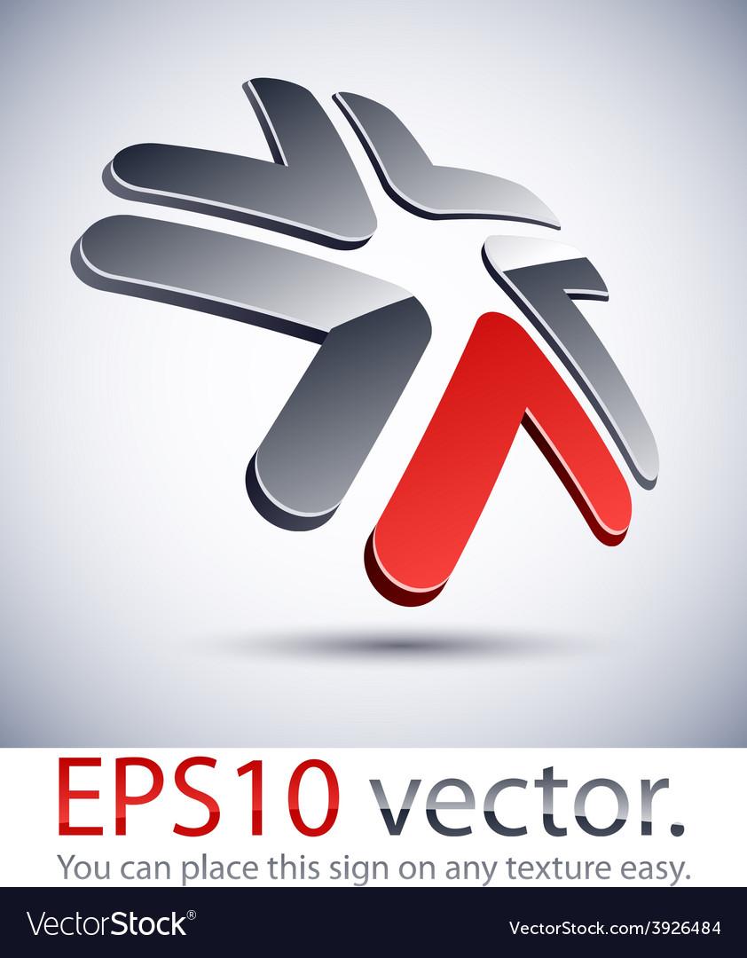 3d modern star logo icon vector   Price: 1 Credit (USD $1)