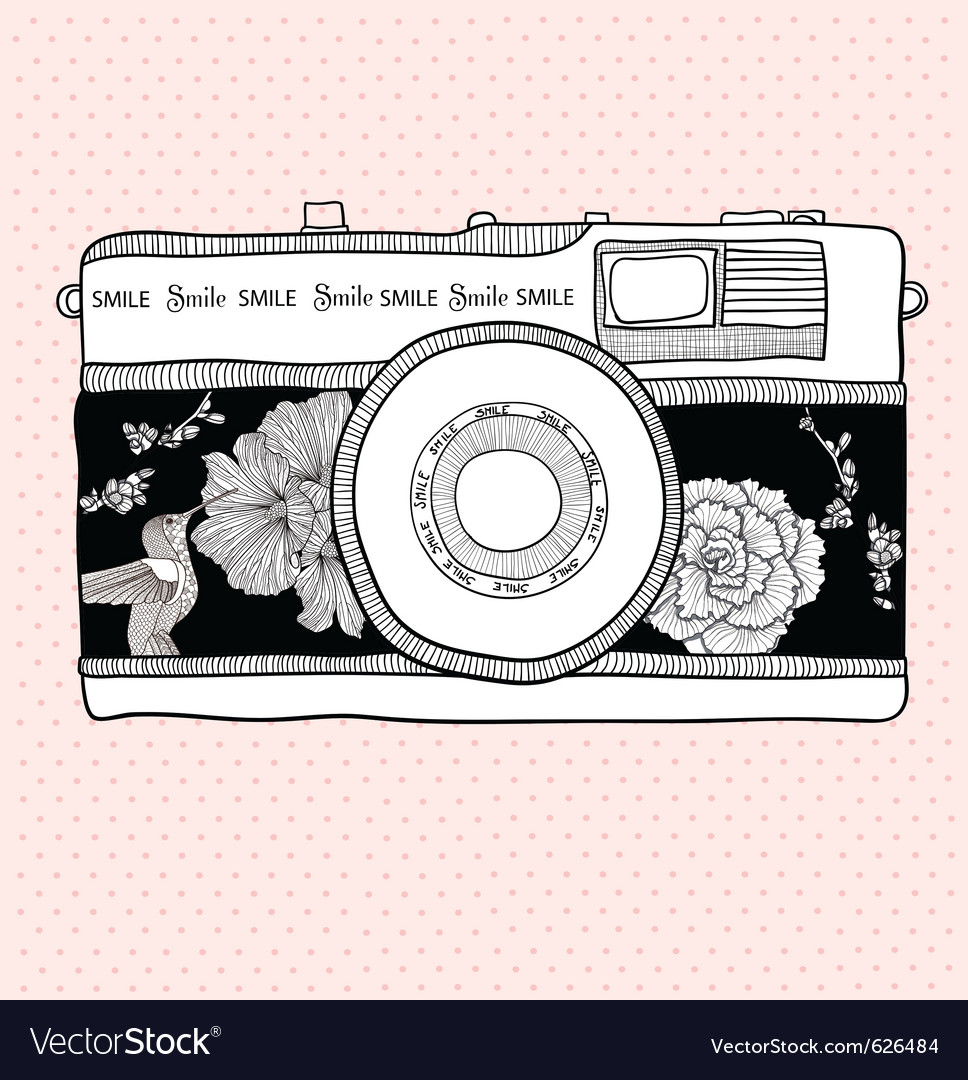 Illustrative camera vector | Price: 3 Credit (USD $3)