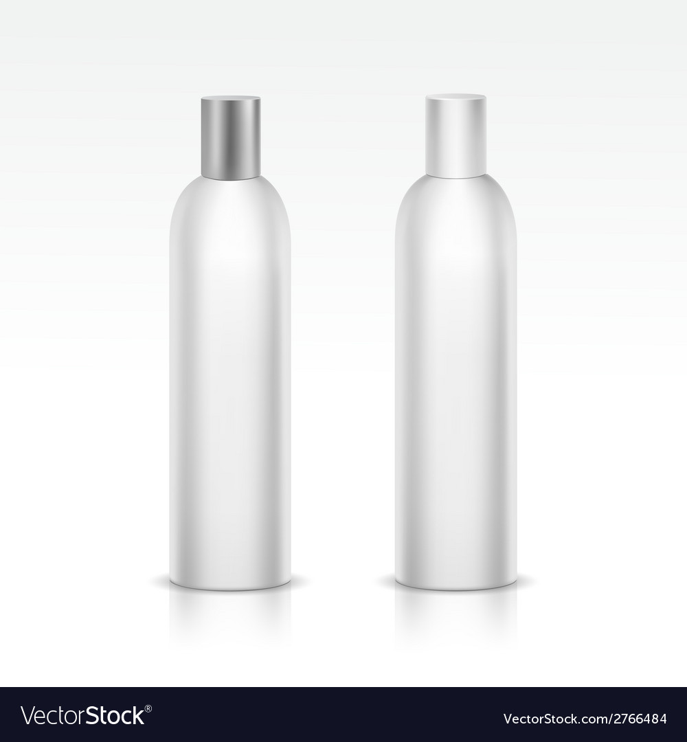 Isolated blank bottle vector | Price: 1 Credit (USD $1)