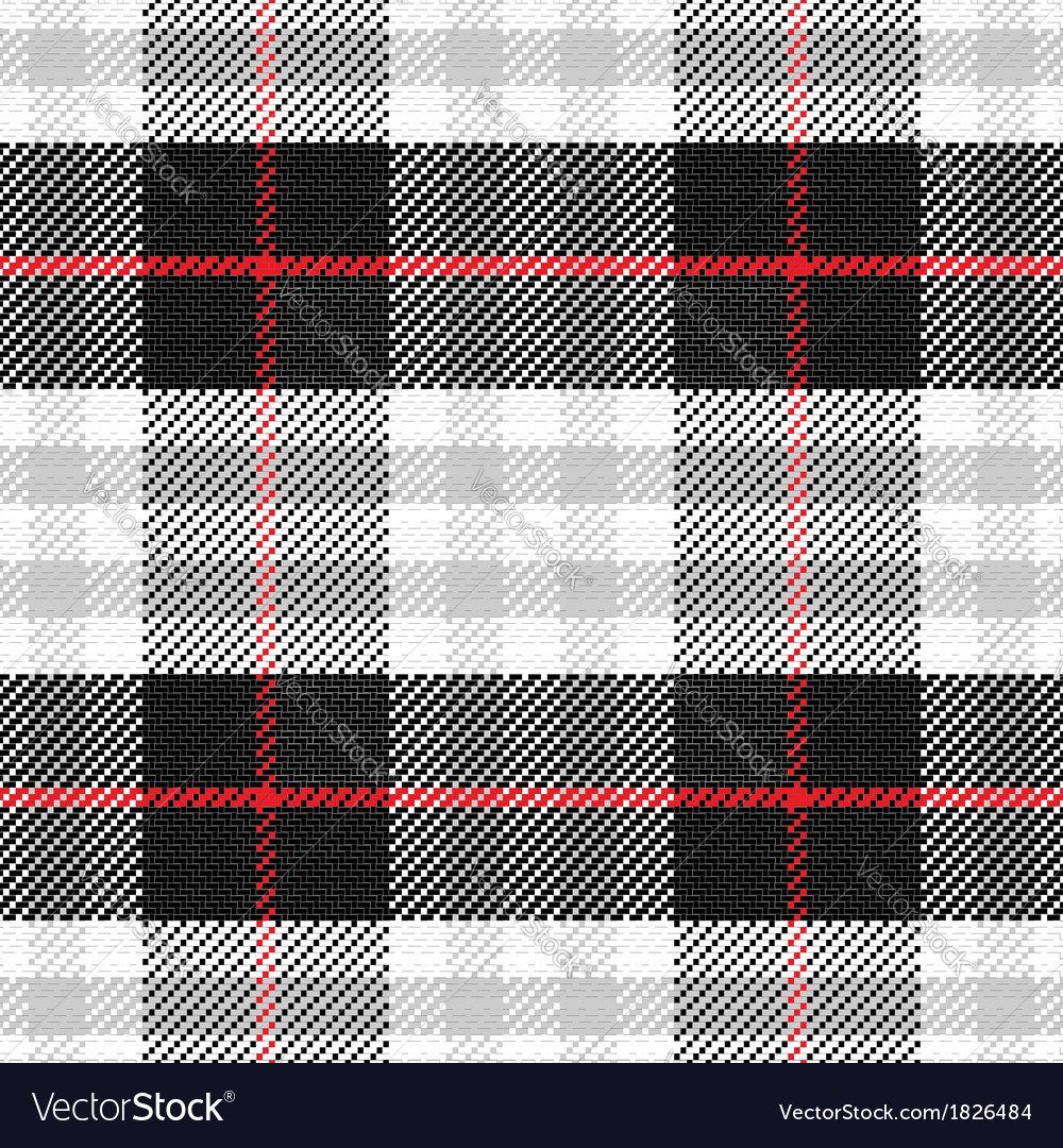 Seamless pattern scottish tartan 2 vector | Price: 1 Credit (USD $1)