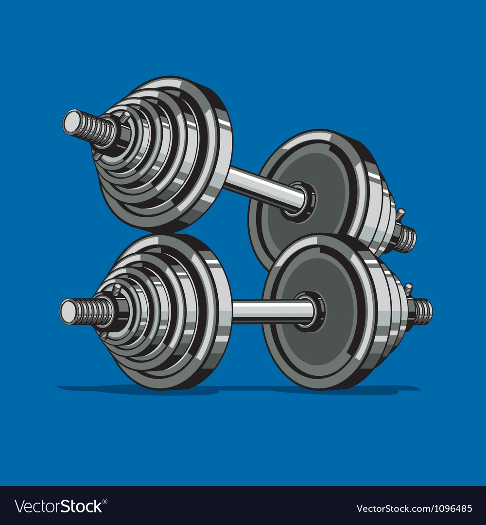 Dumbbell vector | Price: 3 Credit (USD $3)