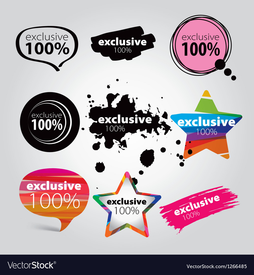 Icons exclusive vector | Price: 1 Credit (USD $1)