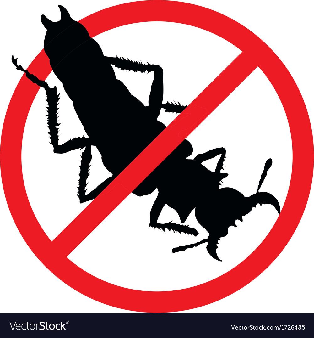Stop pests vector | Price: 1 Credit (USD $1)