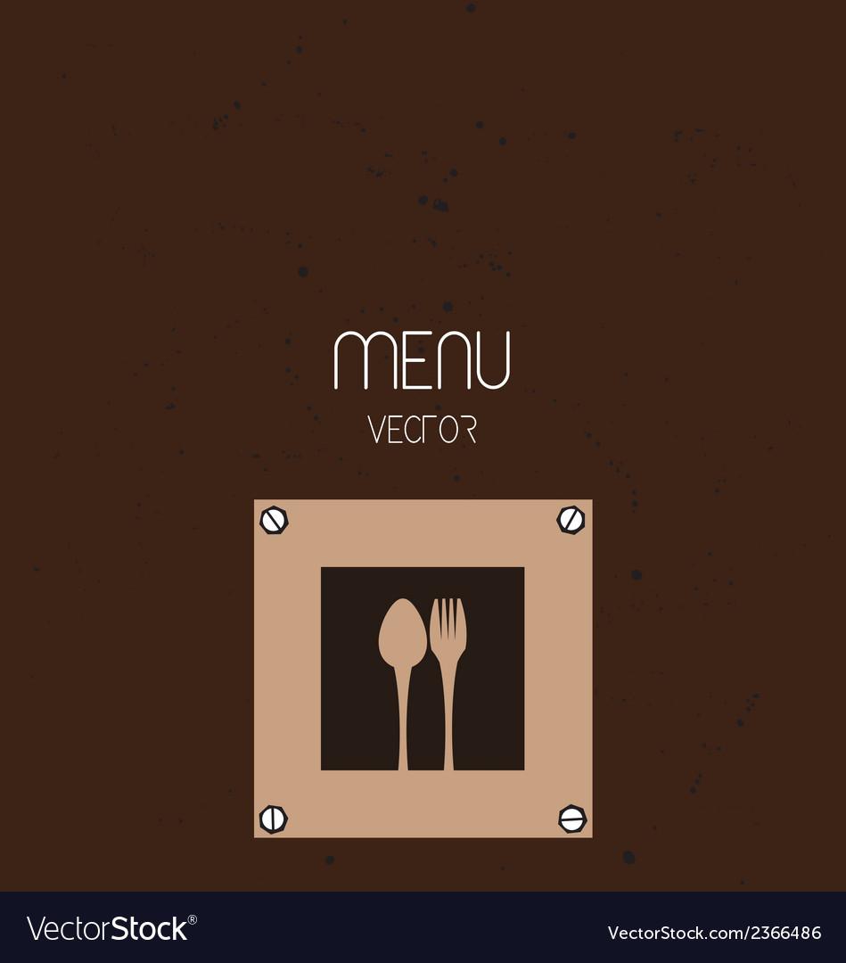 Restaurant menu background vector   Price: 1 Credit (USD $1)