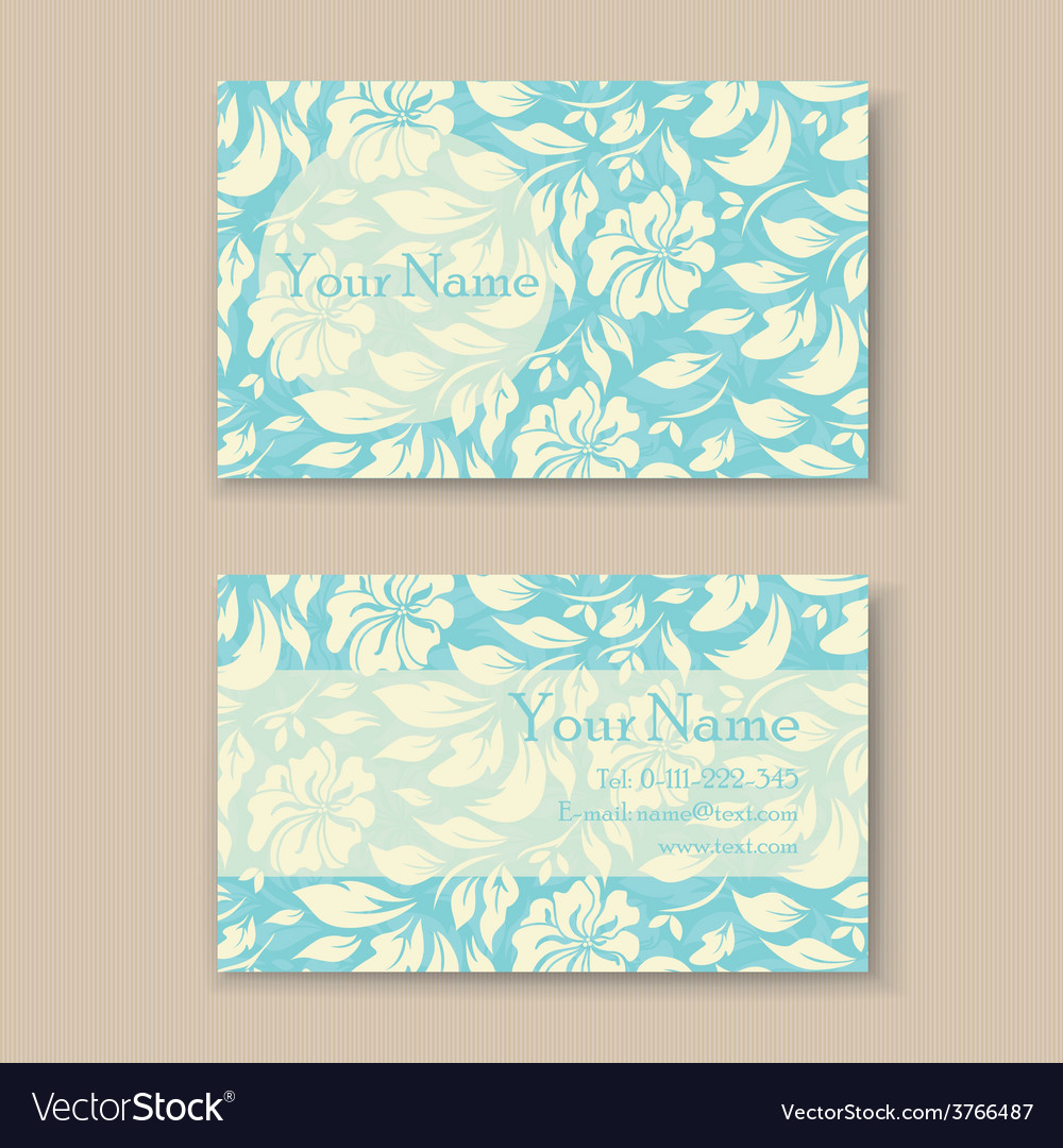 Business card blue vector   Price: 1 Credit (USD $1)