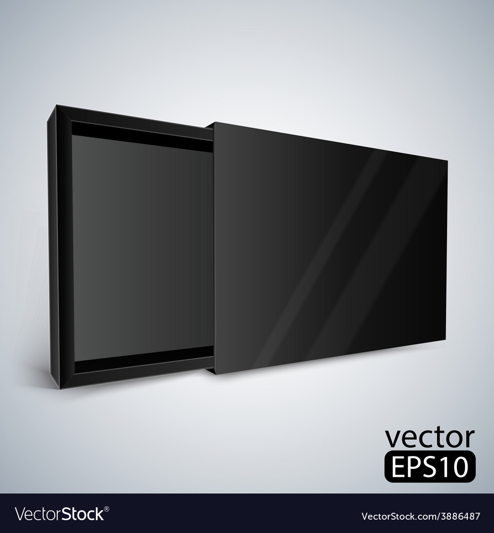 Opened black box vector | Price: 1 Credit (USD $1)