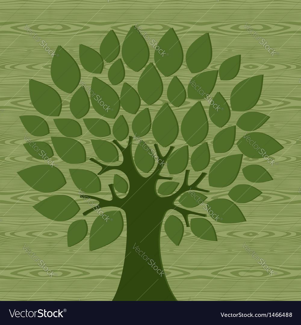 Eco friendly concepttree vector | Price: 1 Credit (USD $1)