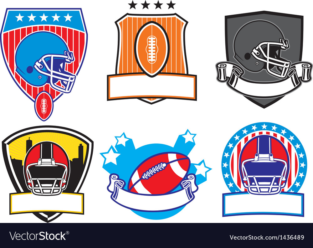 Football patch vector | Price: 1 Credit (USD $1)