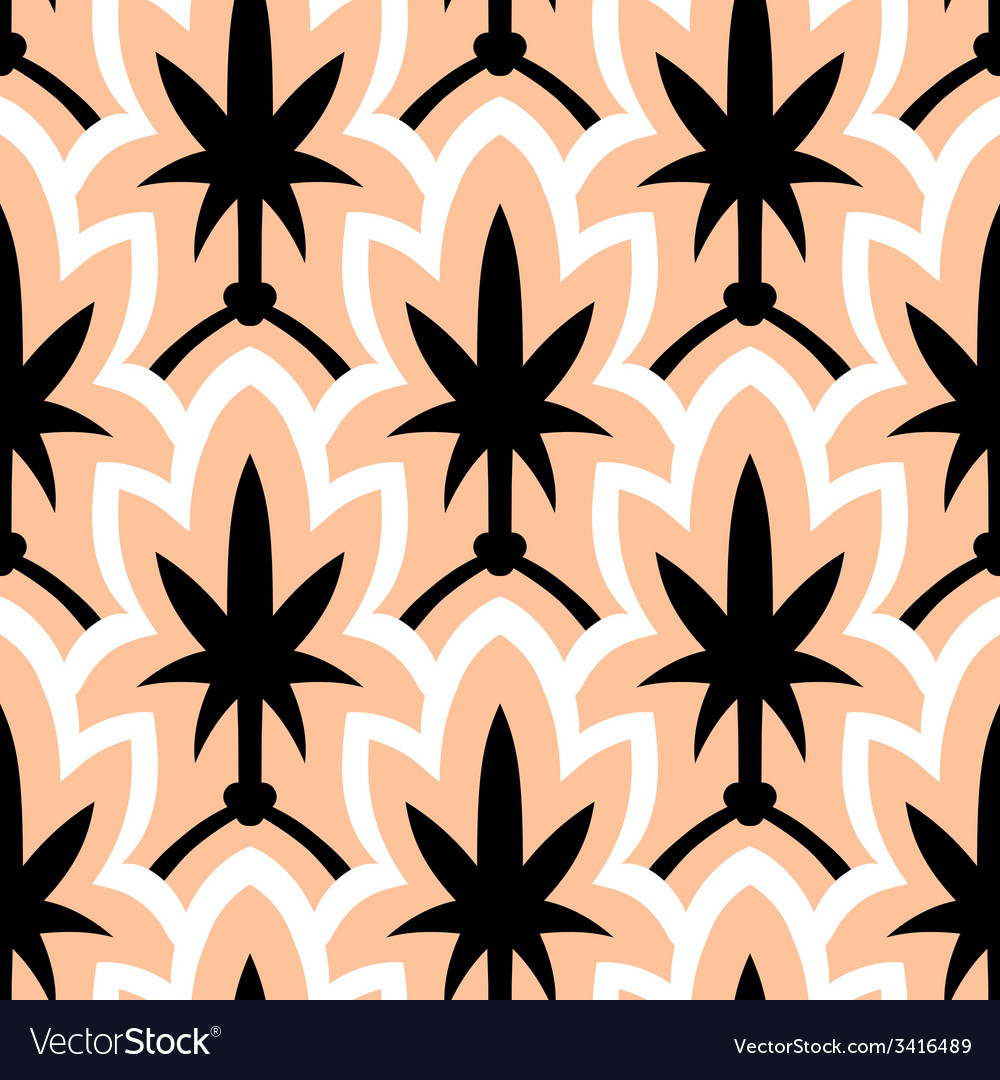 Hand drawn art deco pattern vector | Price: 1 Credit (USD $1)