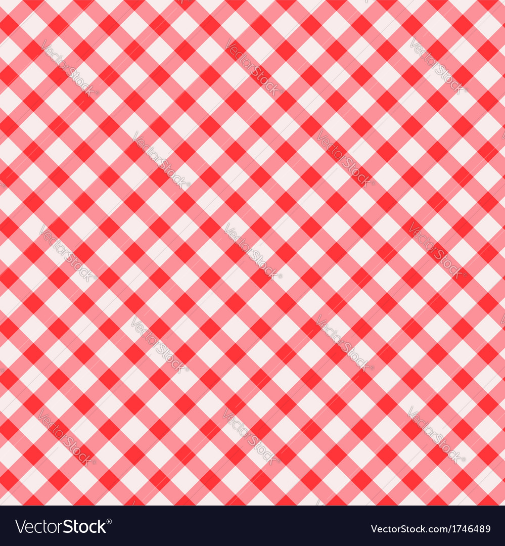 Tablecloth seamless background vector | Price: 1 Credit (USD $1)