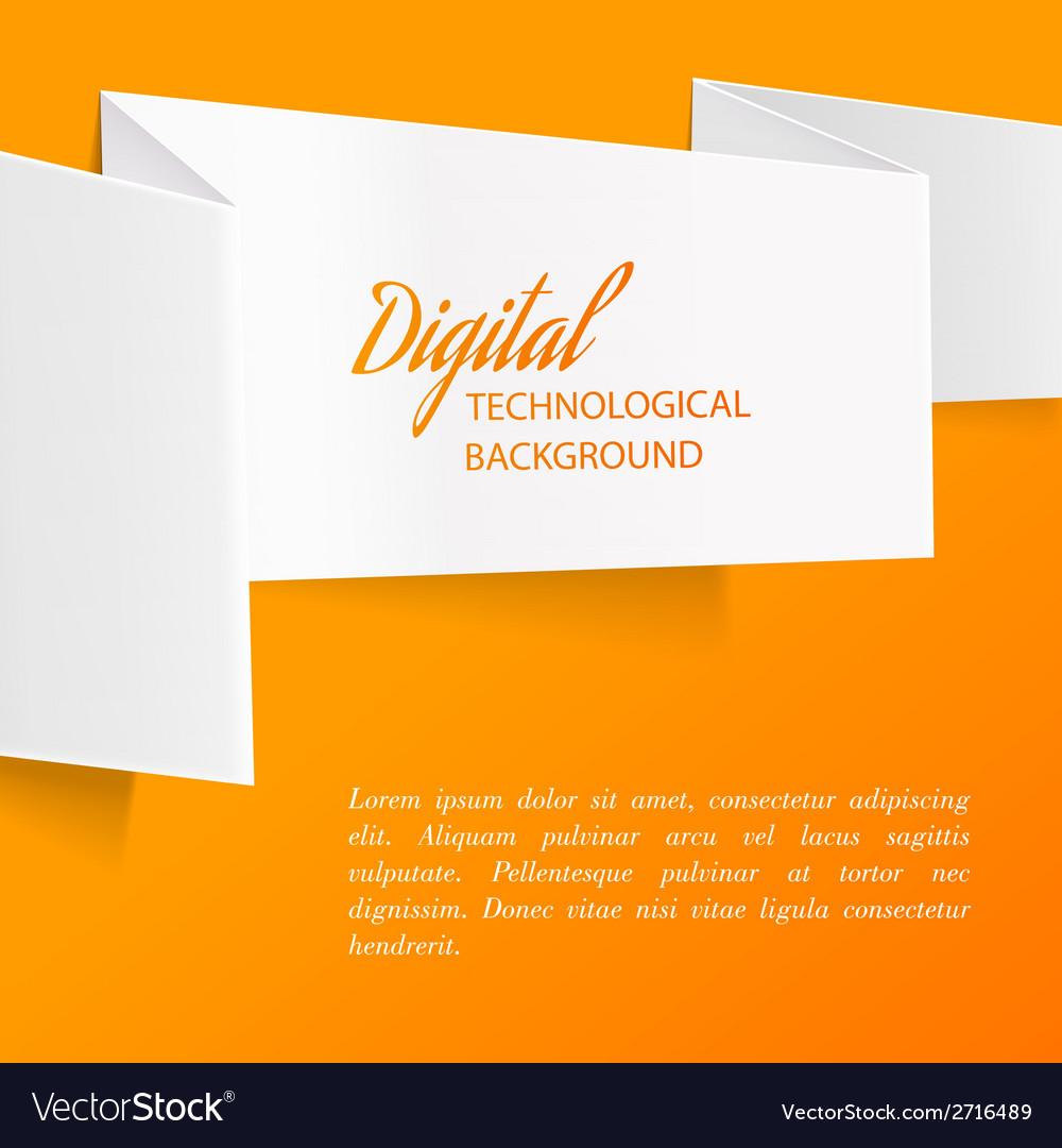 White paper vector | Price: 1 Credit (USD $1)