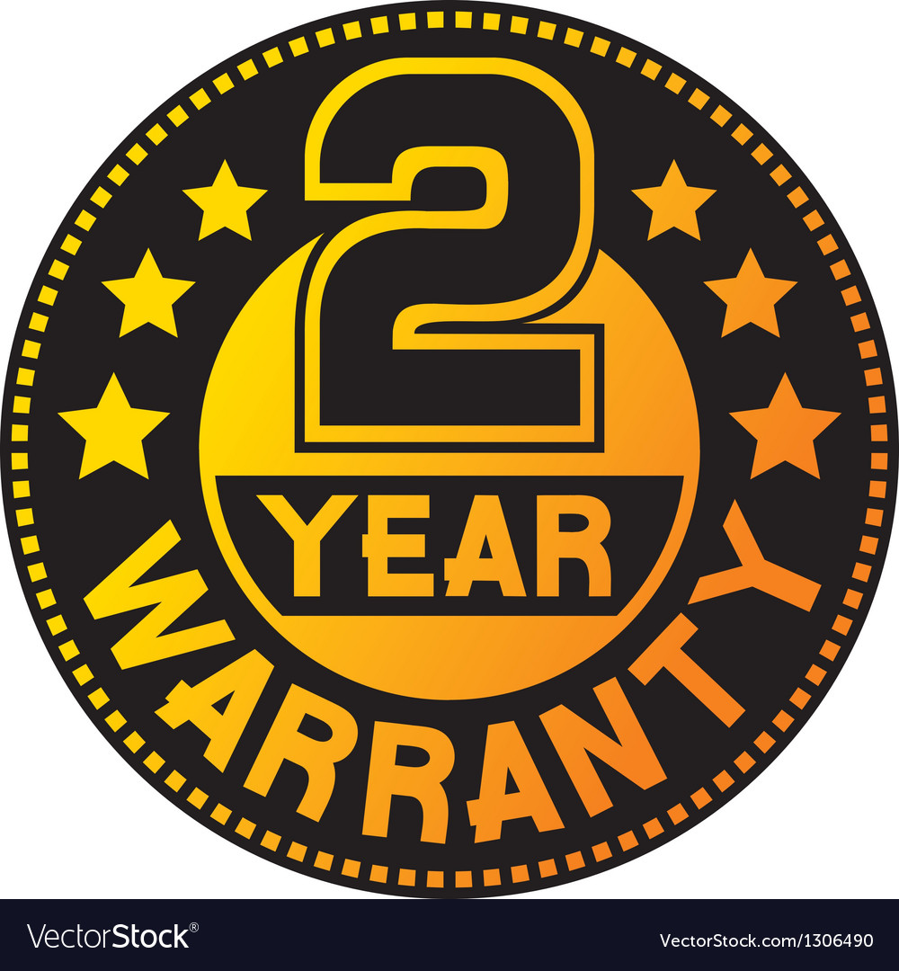 2 year warranty vector | Price: 1 Credit (USD $1)