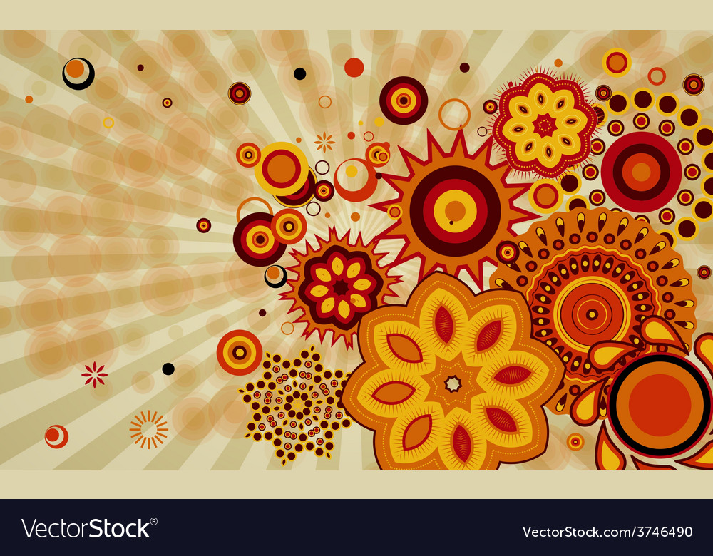 Abstract background with different design shapes vector | Price: 1 Credit (USD $1)