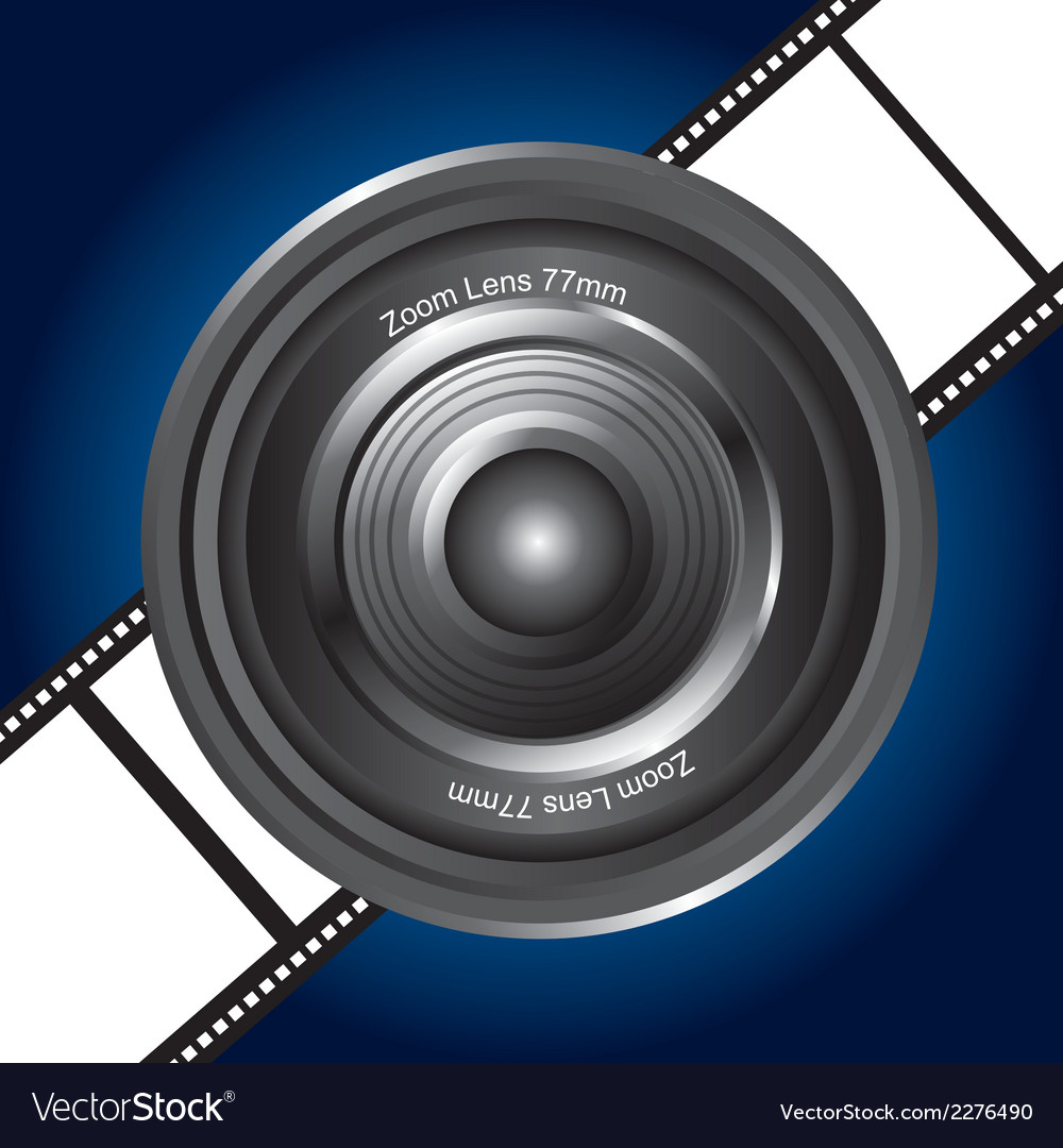 Camera lense vector | Price: 1 Credit (USD $1)