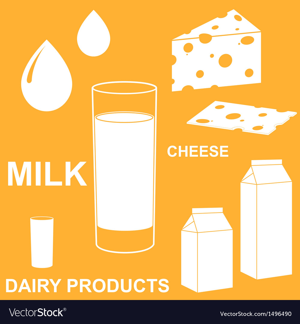 Dairy product vector | Price: 1 Credit (USD $1)
