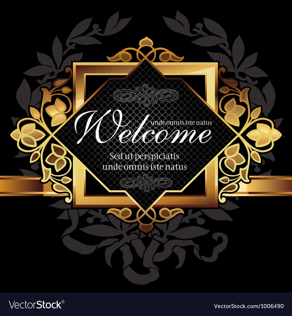 Decorative frame vector | Price: 3 Credit (USD $3)