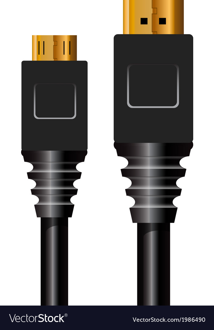 Hdmi vector | Price: 1 Credit (USD $1)
