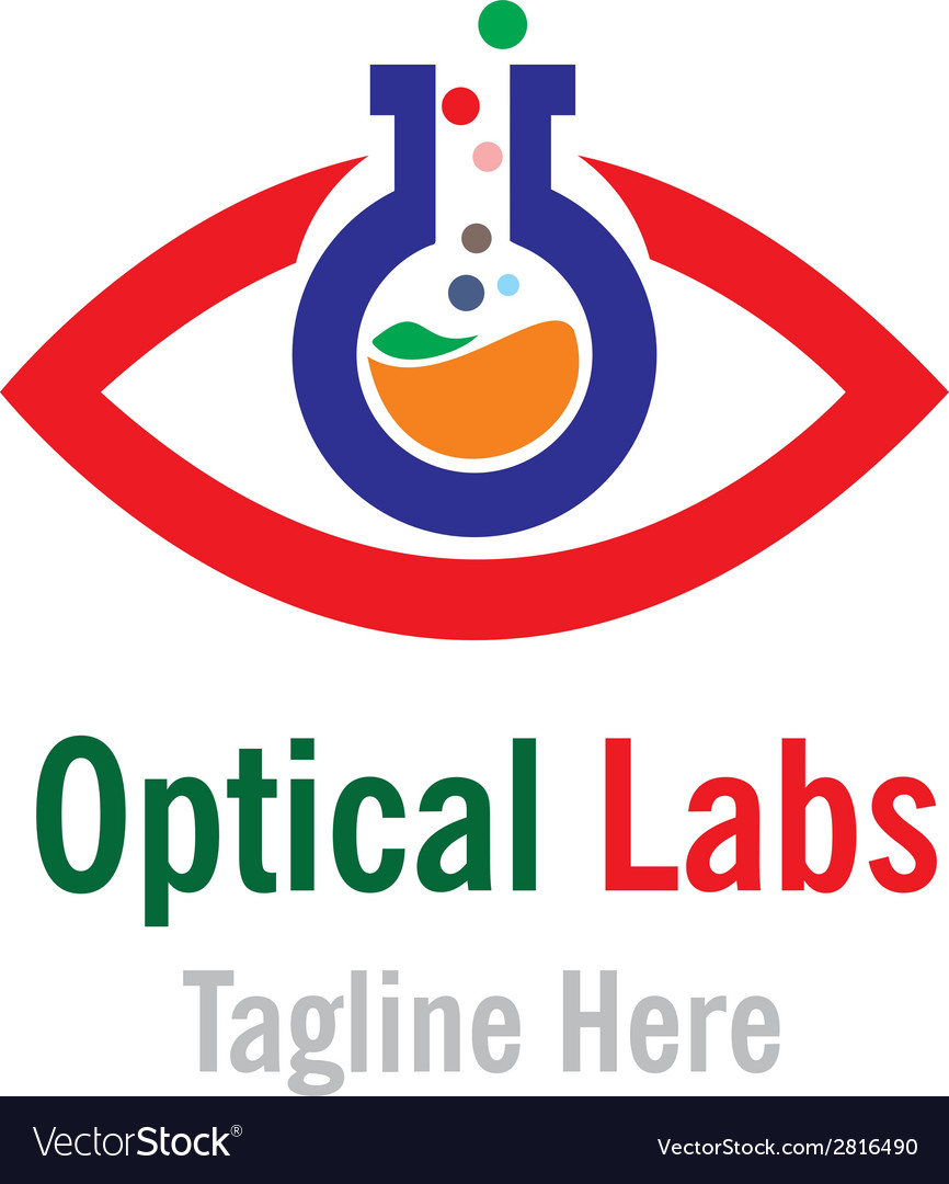 Optical labs logo template vector | Price: 1 Credit (USD $1)