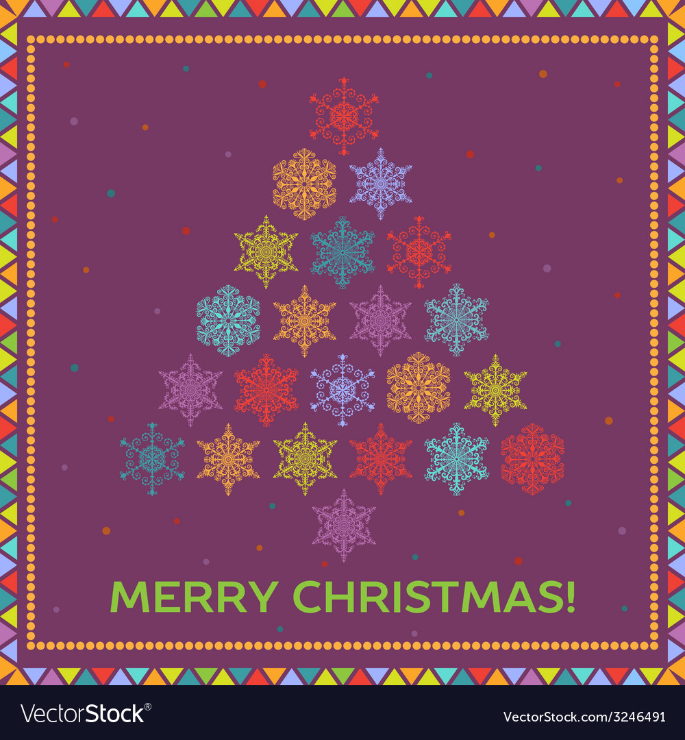 Bright christmas background vector | Price: 1 Credit (USD $1)