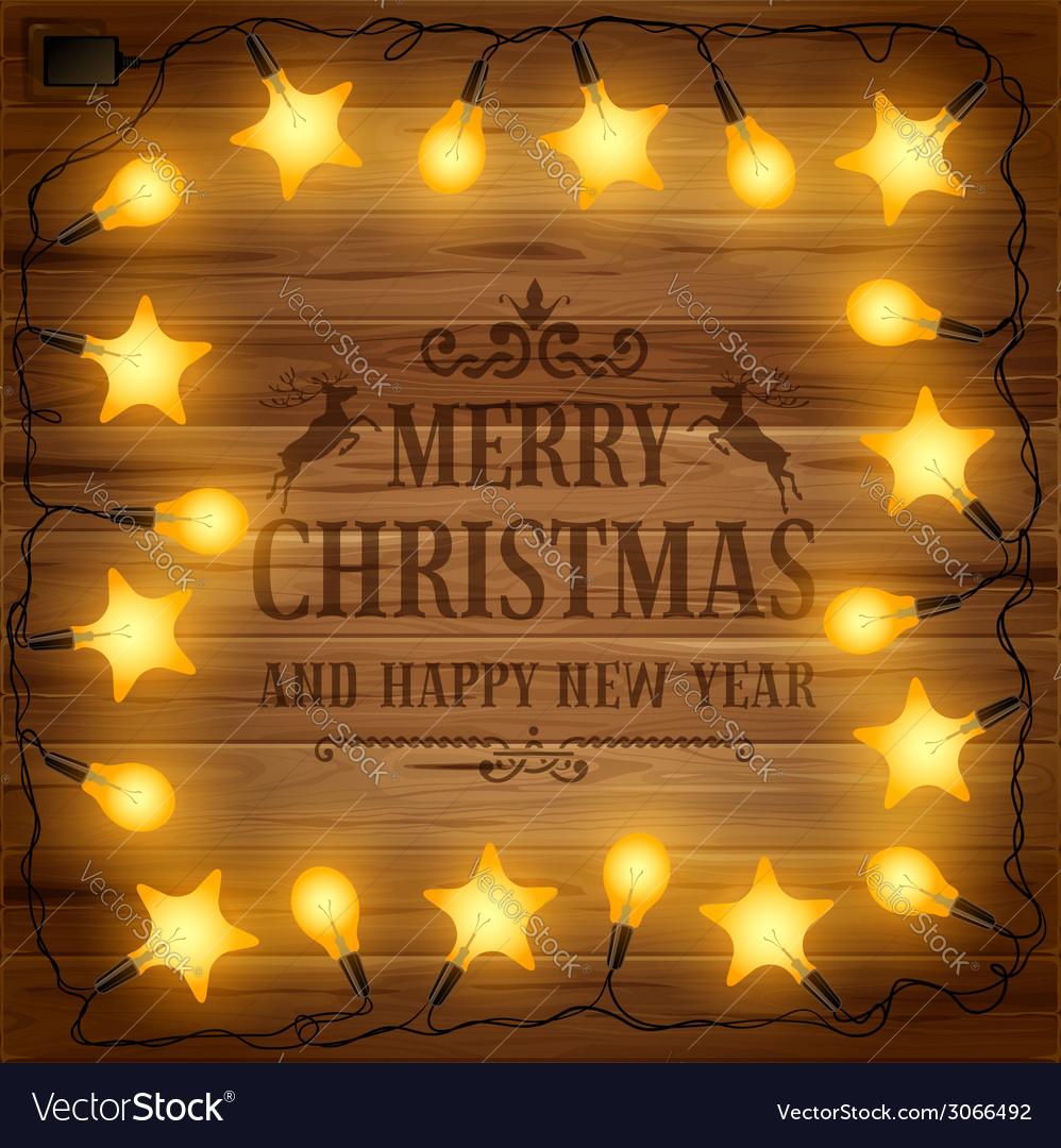 Christmas garland vector | Price: 1 Credit (USD $1)