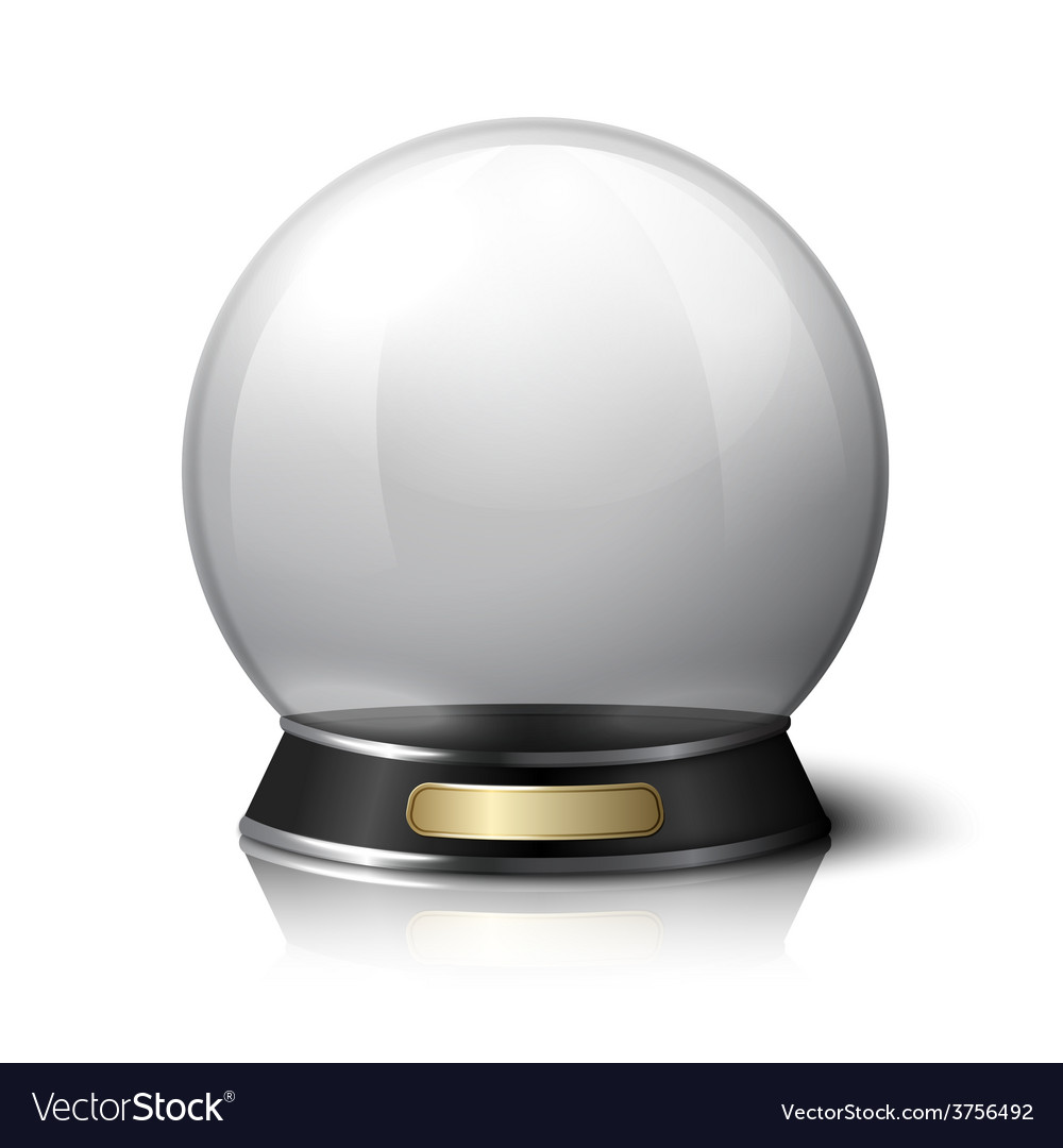 Crystal ball for fortune tellers vector | Price: 1 Credit (USD $1)