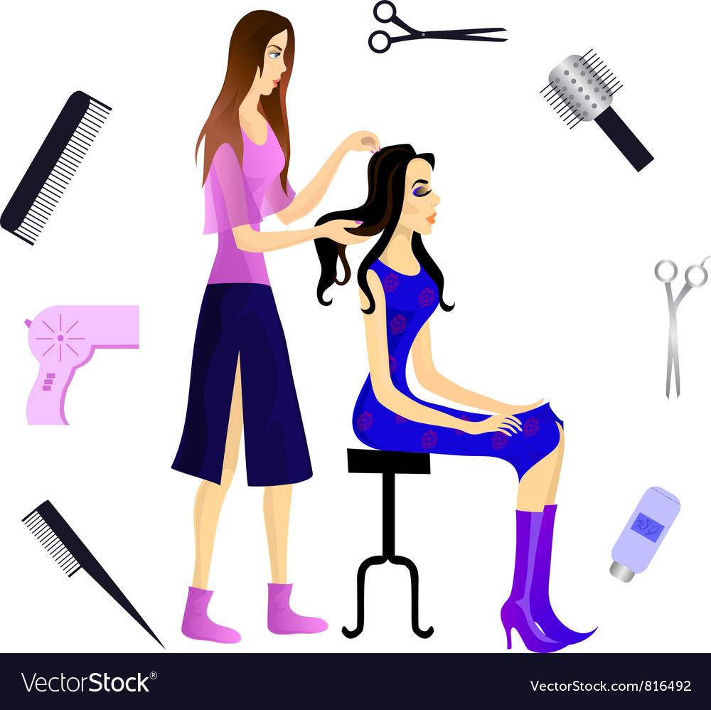 Hair vector | Price: 3 Credit (USD $3)
