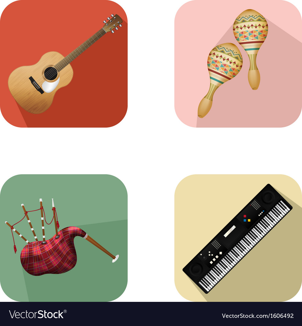 Music and party icons 5 vector | Price: 1 Credit (USD $1)
