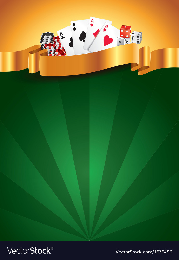 Casino vertical background vector | Price: 1 Credit (USD $1)