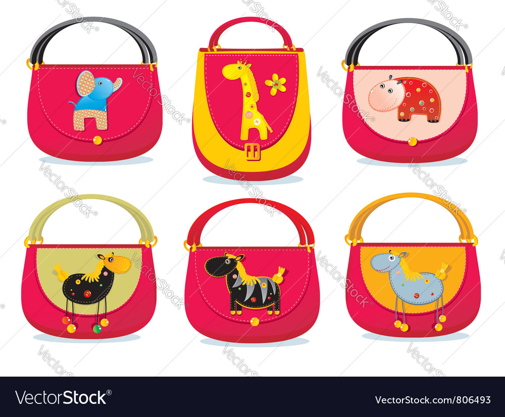 Needlework bags vector | Price: 3 Credit (USD $3)