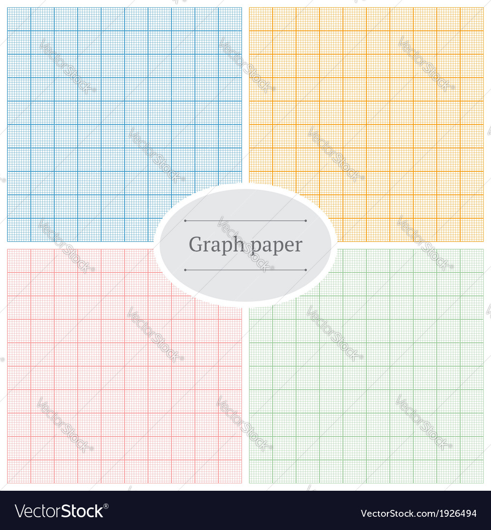 Graph paper patterns vector   Price: 1 Credit (USD $1)