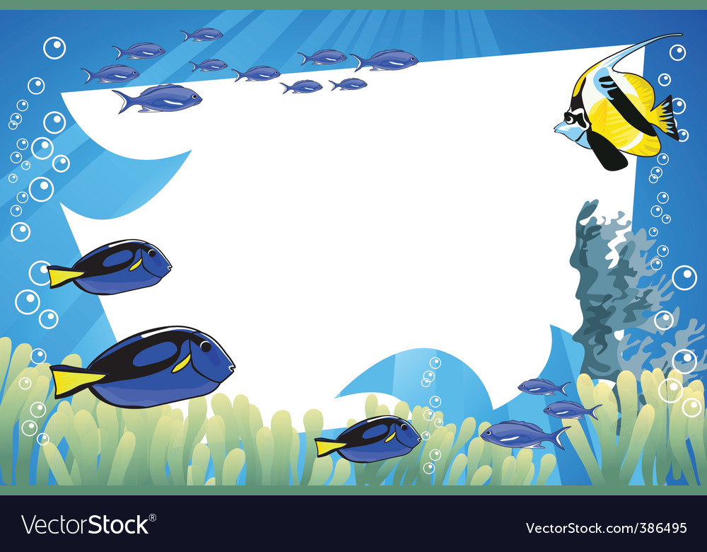 Underwater fish vector | Price: 1 Credit (USD $1)