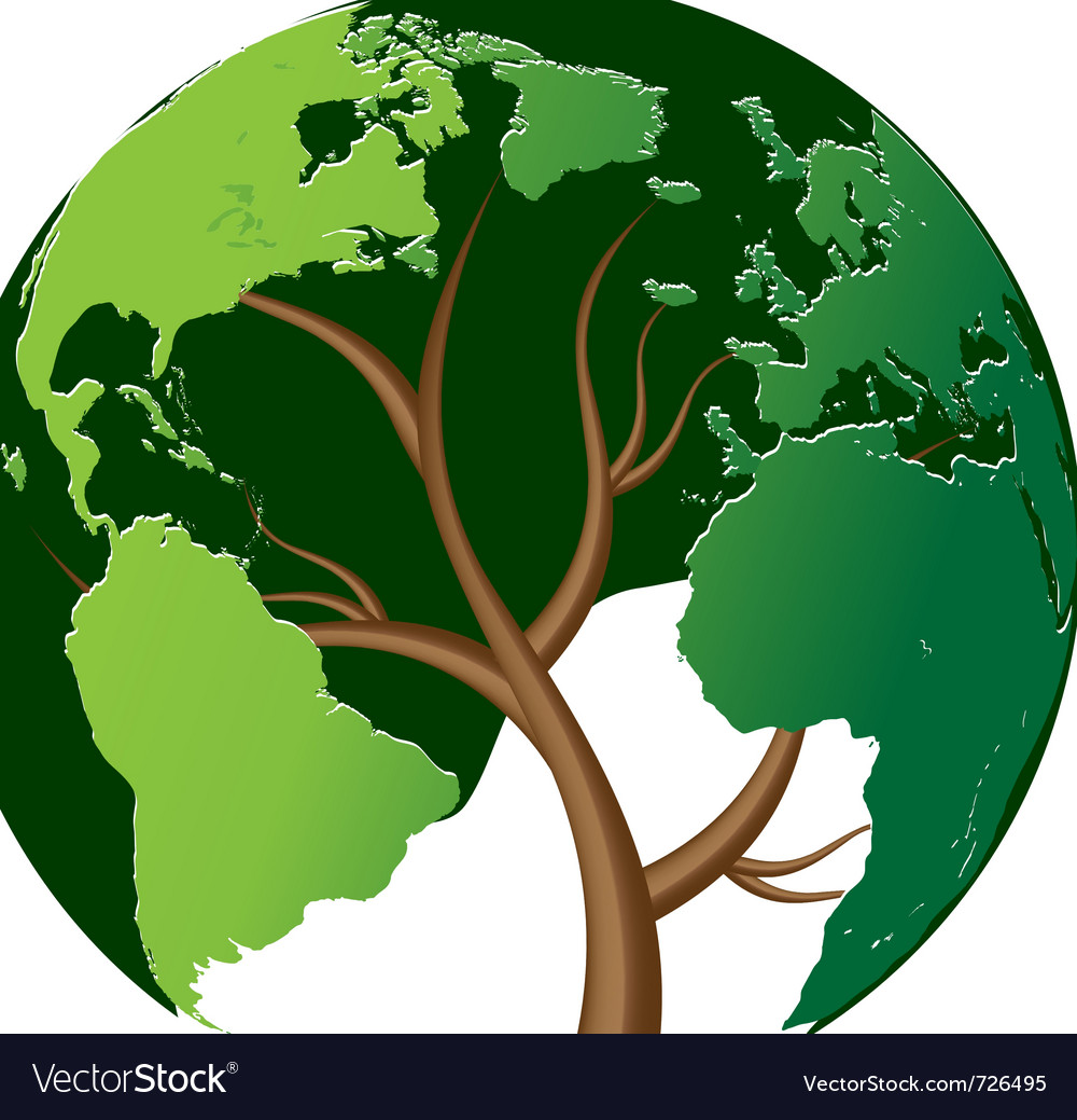 World tree vector | Price: 1 Credit (USD $1)