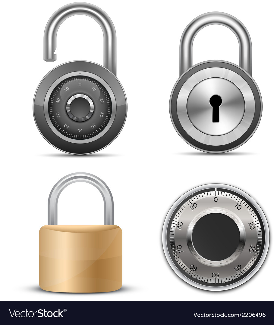 Collection of locks vector | Price: 1 Credit (USD $1)