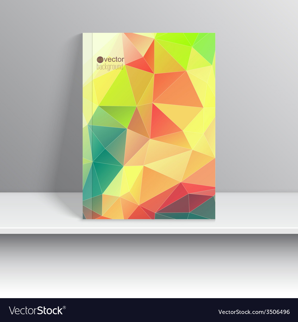 Template for magazine covers vector | Price: 1 Credit (USD $1)