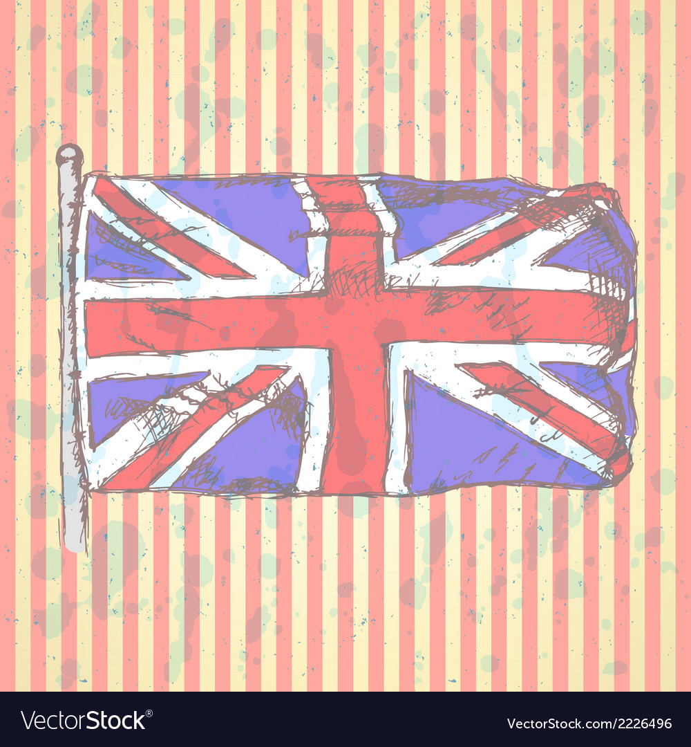 Uk flag vector | Price: 1 Credit (USD $1)