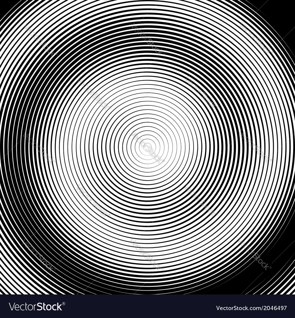 Design monochrome spiral movement background vector | Price: 1 Credit (USD $1)