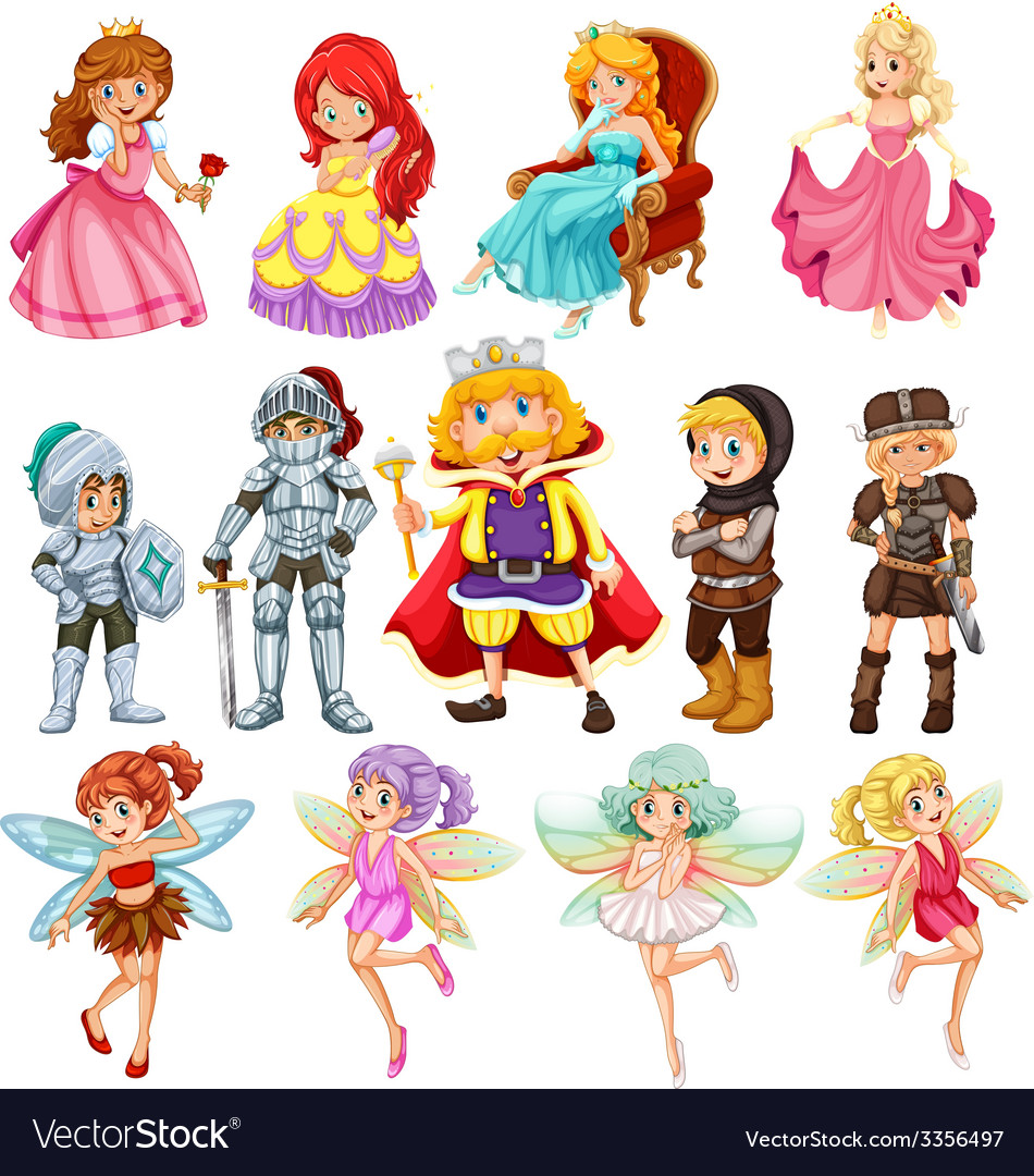 Fantasy characters vector | Price: 3 Credit (USD $3)