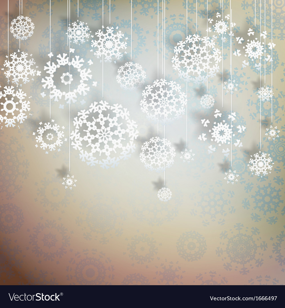 High definition snowflakes on beidge eps 10 vector | Price: 1 Credit (USD $1)