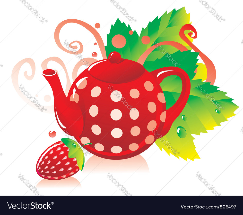Teapot vector | Price: 3 Credit (USD $3)